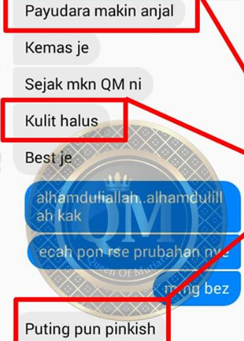 qm queen of mutiara testimoni