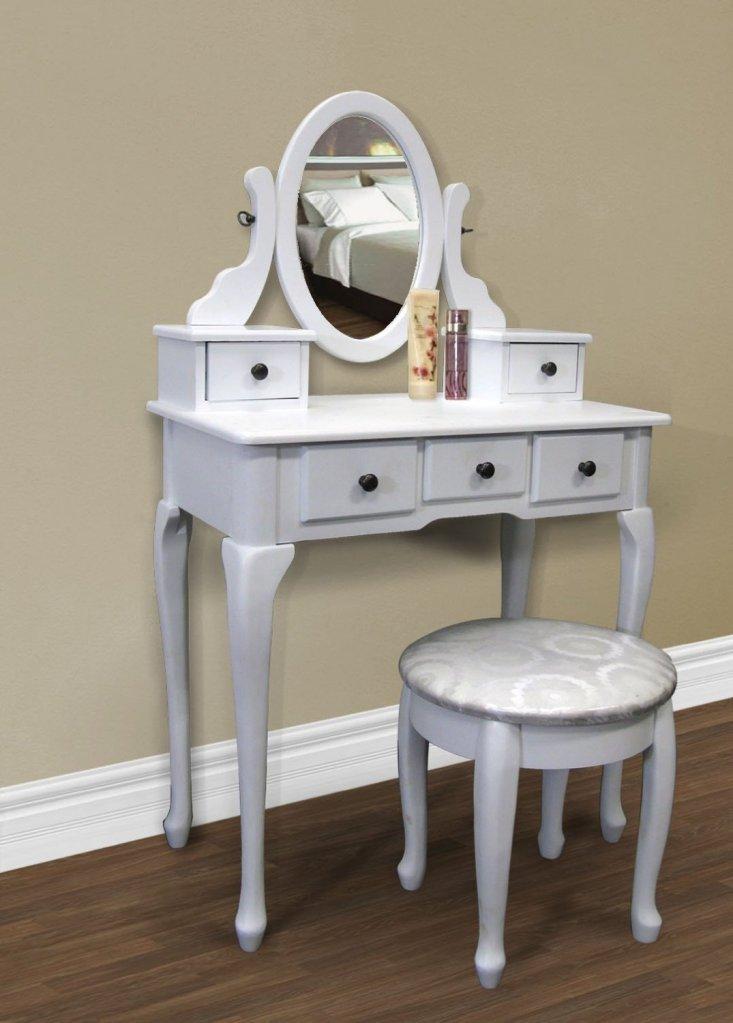 Makeup Vanity Tables With Jewelry Storage-7861