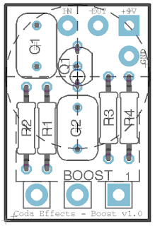 EHX LPB1 PCB line power boost