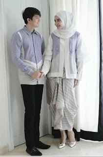 Model Batik Muslim Couple Terbaru