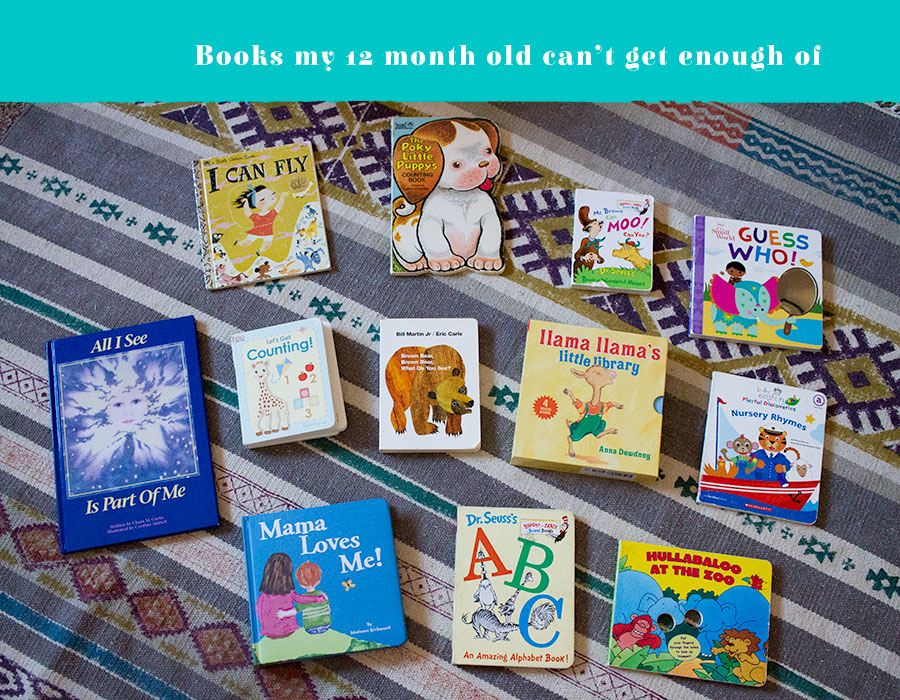 books for a 12 month old