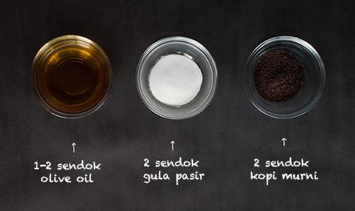 Cara menghaluskan kulit wajah secara alami dengan scrub kopi