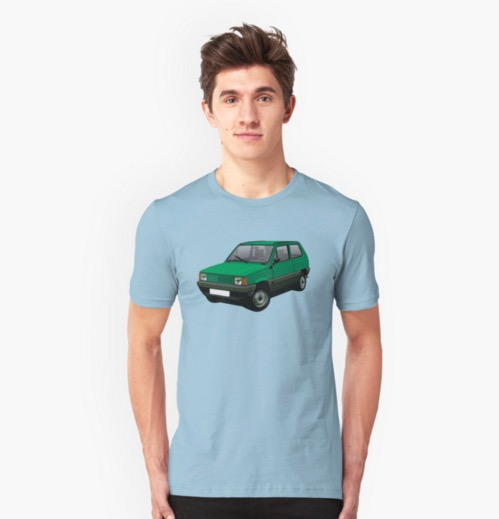 Fiat Panda (Tipo 141) on Redbubble