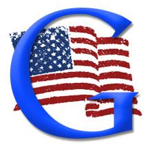 USA Google Flag