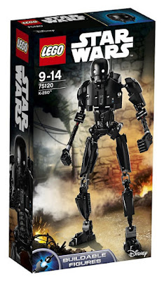 JUGUETES - LEGO Star Wars Rogue One 75120 K-2SO : Figura para construir 2016 | PELICULA | Piezas: 169 | Edad: 9-14 años Comprar en Amazon España