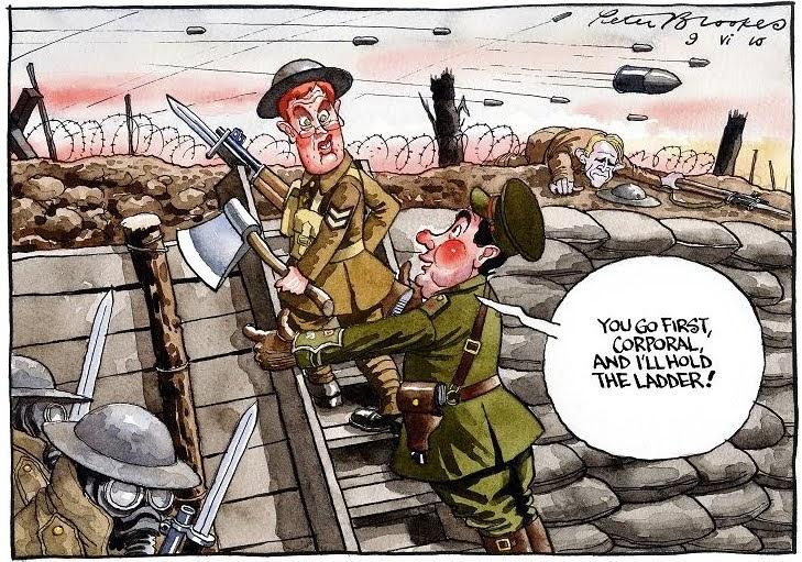 The Horrors of War (1916-1917): Political Cartoon