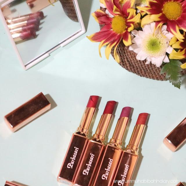 purbasari lipstick metallic
