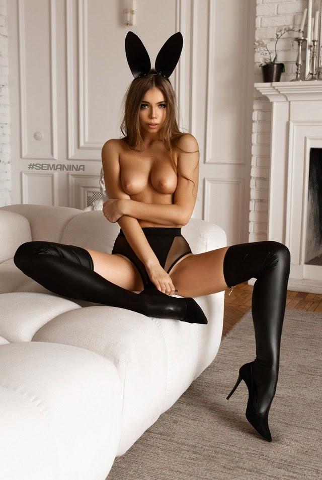 Liza Vaiss - Bunny Bikini (by Svetlana Semanina) - idols