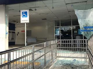 Homem morre após ser atingido por bala perdida durante explosão a banco na PB