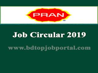 Pran Group Sales Representative Job Circular 2019