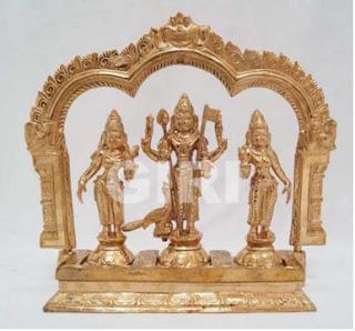 Panchaloha Ekasana Subramanyar