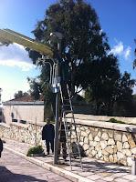 Αποτέλεσμα εικόνας για Αντικατάσταση φωτιστικών σωμάτων στην Τήνο