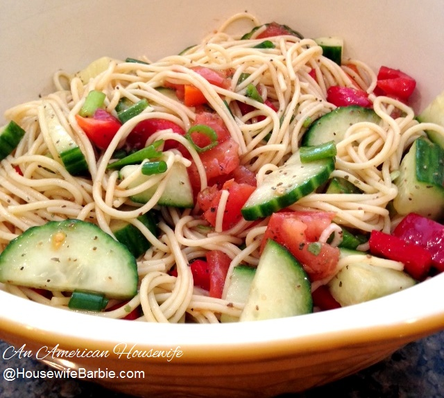 An American Housewife One Of The Best Summer Pasta Salads
