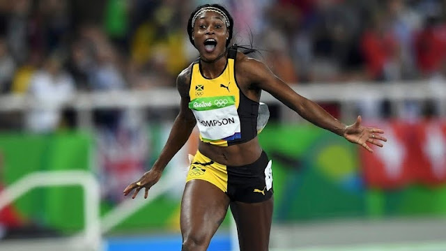 Rio Olympics 2016: Okagbare Disappoints As Elaine Thompson Wins 100m gold