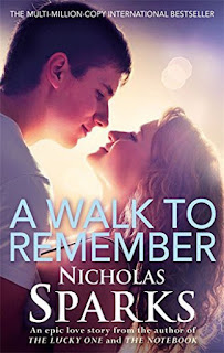 A WALK TO REMEMBER - BOOK COVER