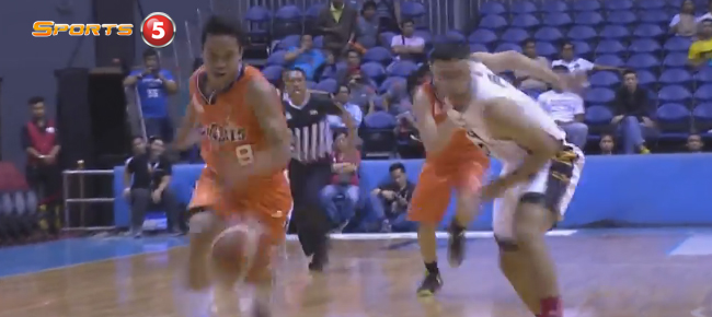 Baser Amer NASTY Move Against Michael DiGregorio & James White (VIDEO)