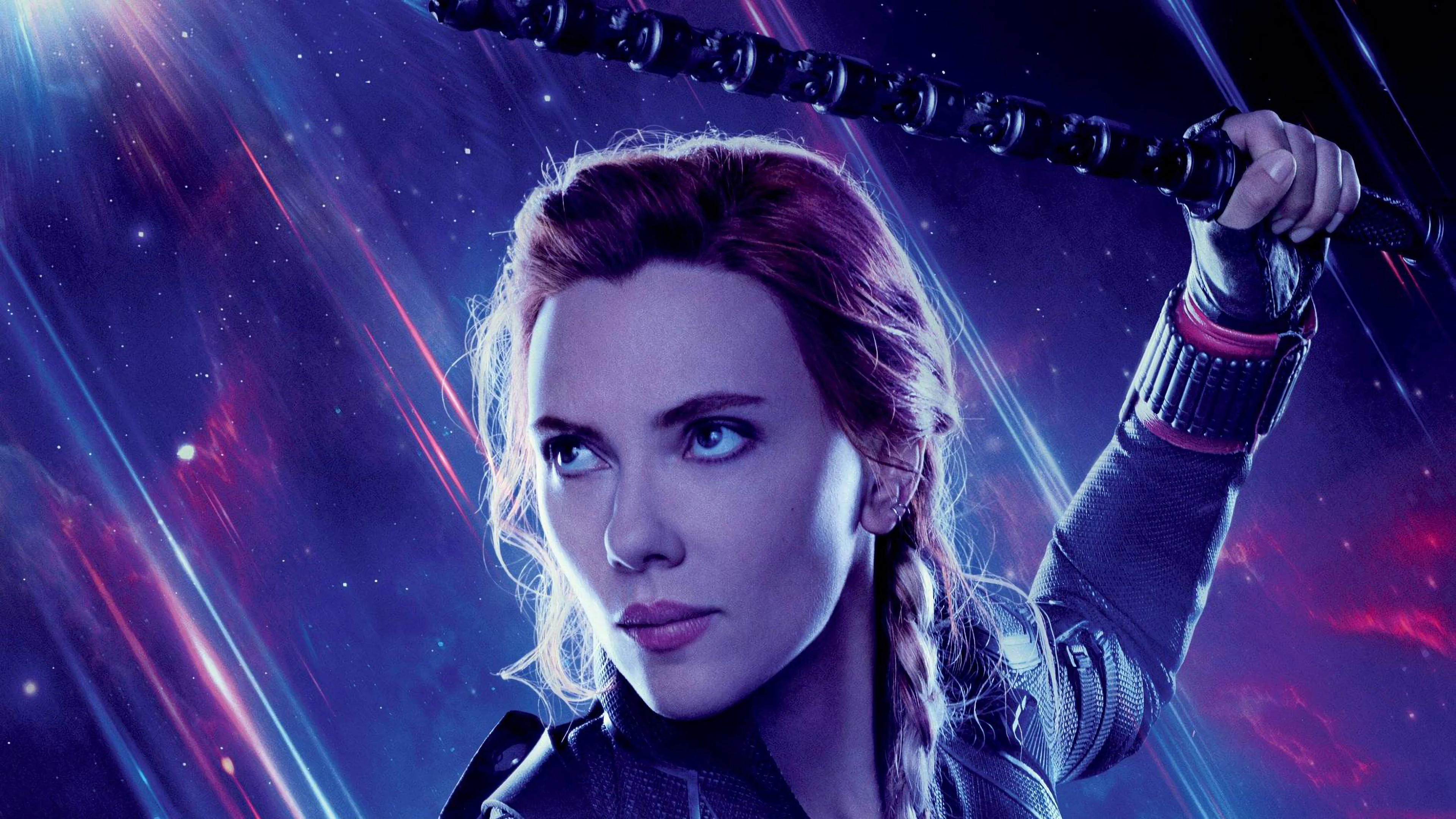 Avengers endgame black widow natasha romanoff 4k 84 - Natacha avenger ...