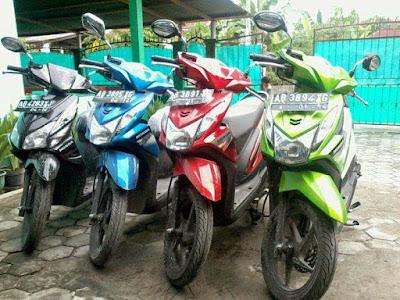 Bisnis rental kendaraan bermotor di Bandung