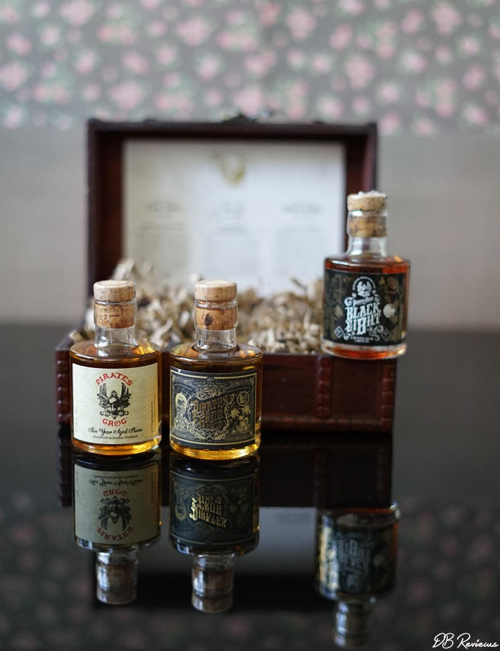 Pirate's Grog Rum Miniatures Gift Set