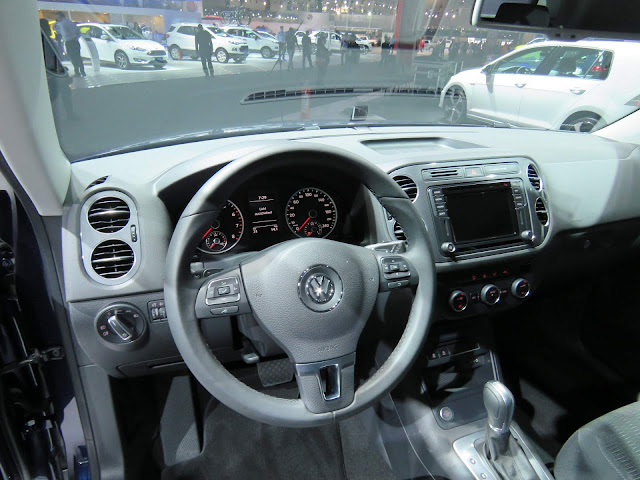 VW Tiguan 2017 - interior - painel