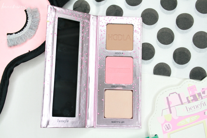 benefit face palette hoola galifornia watt's up