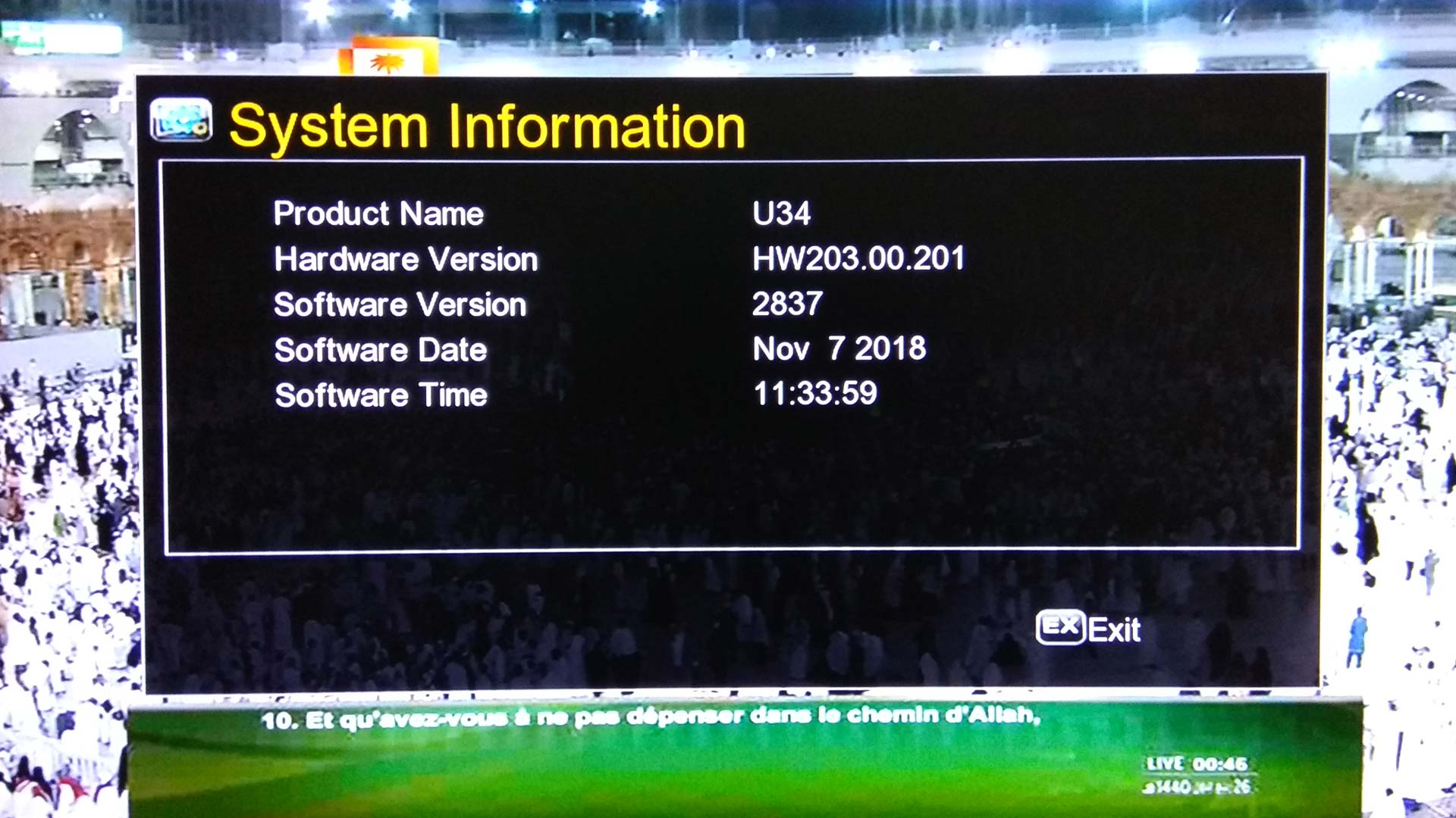 Class HD F10 F20 F30 Software Update Firmware Receiver