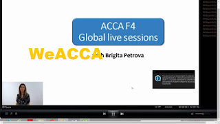 Free f4 Lectures, free LSBF lectures, Free videos for  f4 law; ACCA F4 CBL Corporate and Business Law