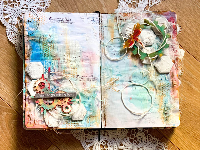 Art Journal z tekturkami