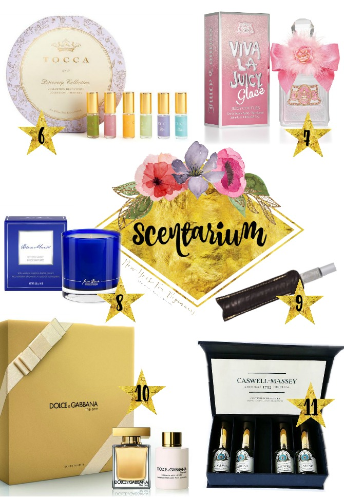 Scentarium with 10 fragrance and perfume gift ideas