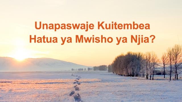 Matamshi ya Mwenyezi Mungu | Unapaswaje Kuitembea Hatua ya