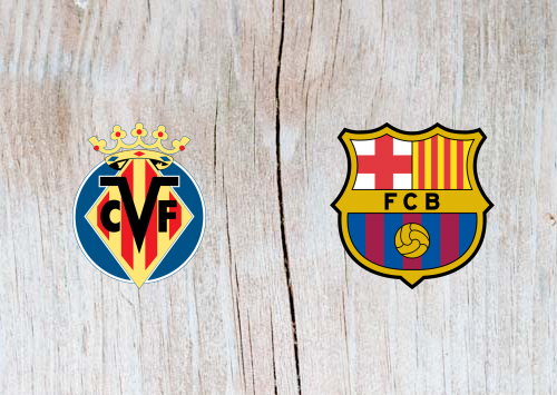 Villarreal vs Barcelona Full Match & Highlights 2 April 2019