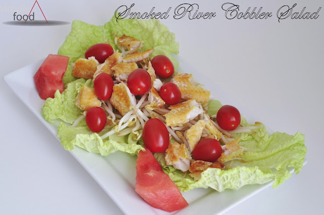 Smoked River Cobbler Salad ~ Simple Food