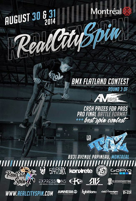 Real City Spin / Round 3 AM Flat Circuit – August 30-31st