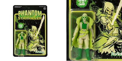 Designer Con 2018 Exclusive Phantom Starkiller Glow in the Dark Edition ReAction Figure by Killer Bootlegs x Super7