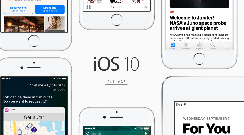 iOS 10 Sudah Dapat Diunduh Pada 13 September Mendatang
