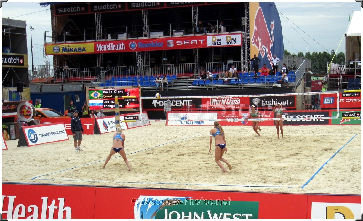 SWATCH FIVB Beach Volleyball World Tour Moscow 2010