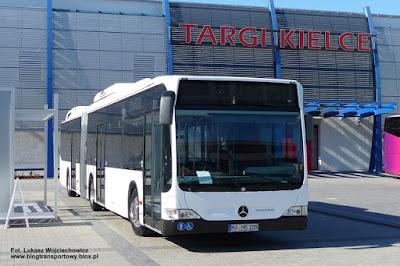 Mercedes-Benz Citaro G Hybrid, TransExpo 2010, Kielce