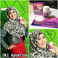 Oki Agustina Minum SINENSA - SINESA - Obat Pelangsing Herbal Alami - 100% Izin BPOM ASLI