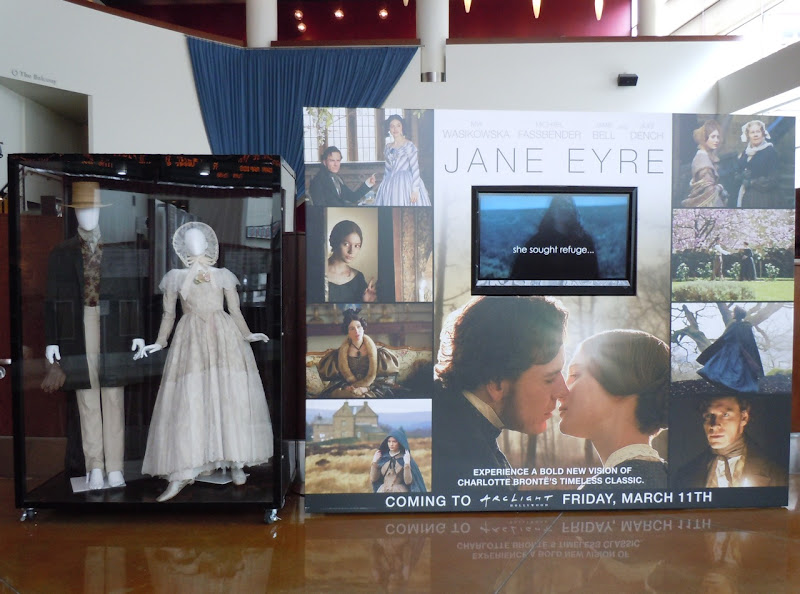 Jane Eyre movie costume exhibit