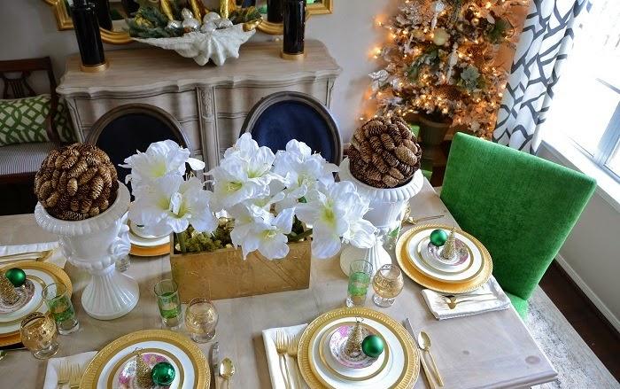 decorar la mesa navidea
