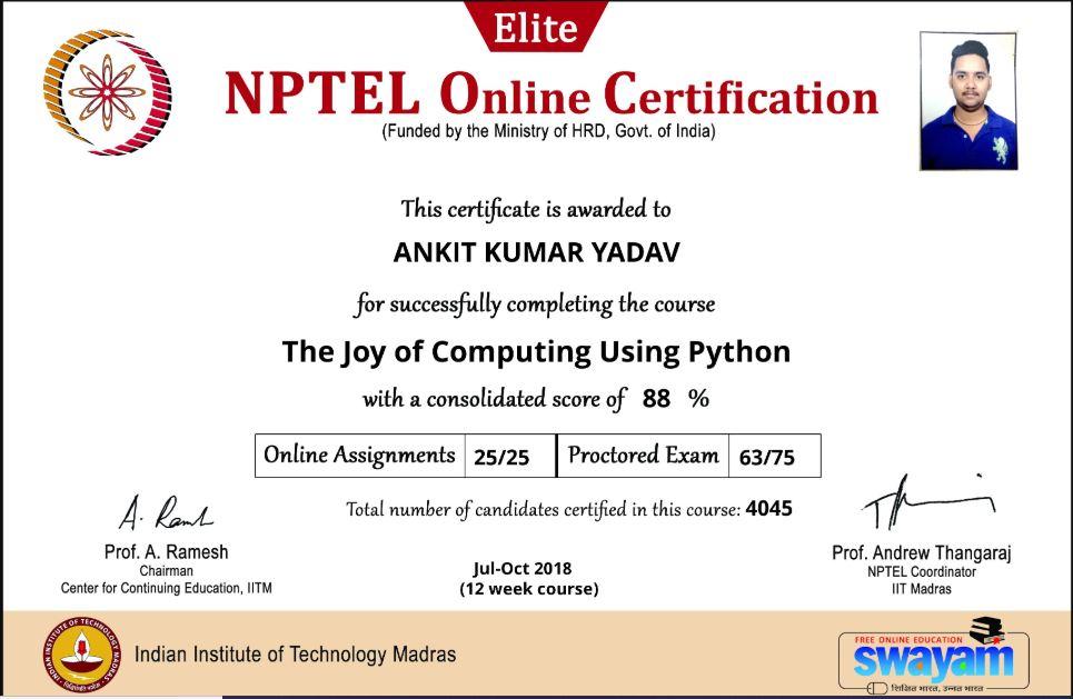 Nptel Exam Pattern: [Official] Nptel Exam Pattern  Nptel Online Exam