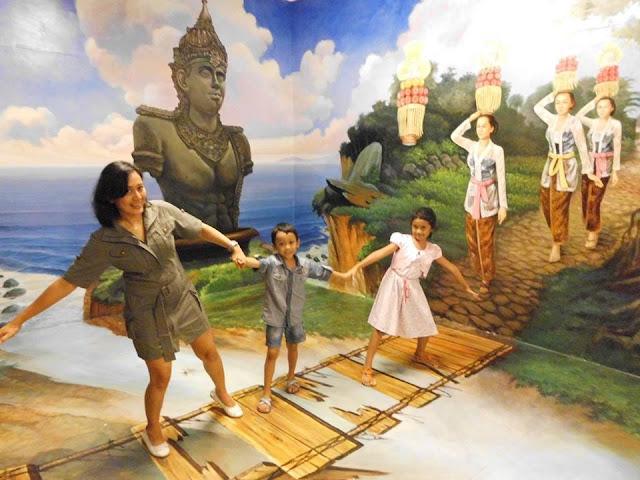 Tempat Wisata Hits di Bali yaitu 3D Interactive Art Museum