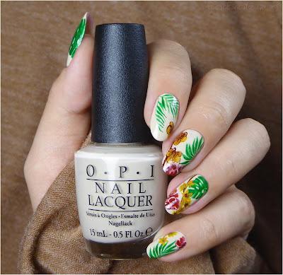 paznokcie storczyki