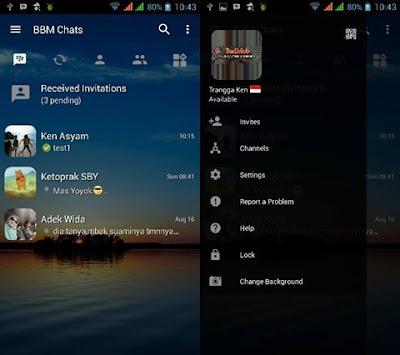 BBM MOD Transparant Change Background v3.0.1.25