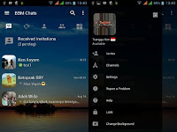 BBM MOD Transparant Change Background v3.0.1.25 Apk Terbaru