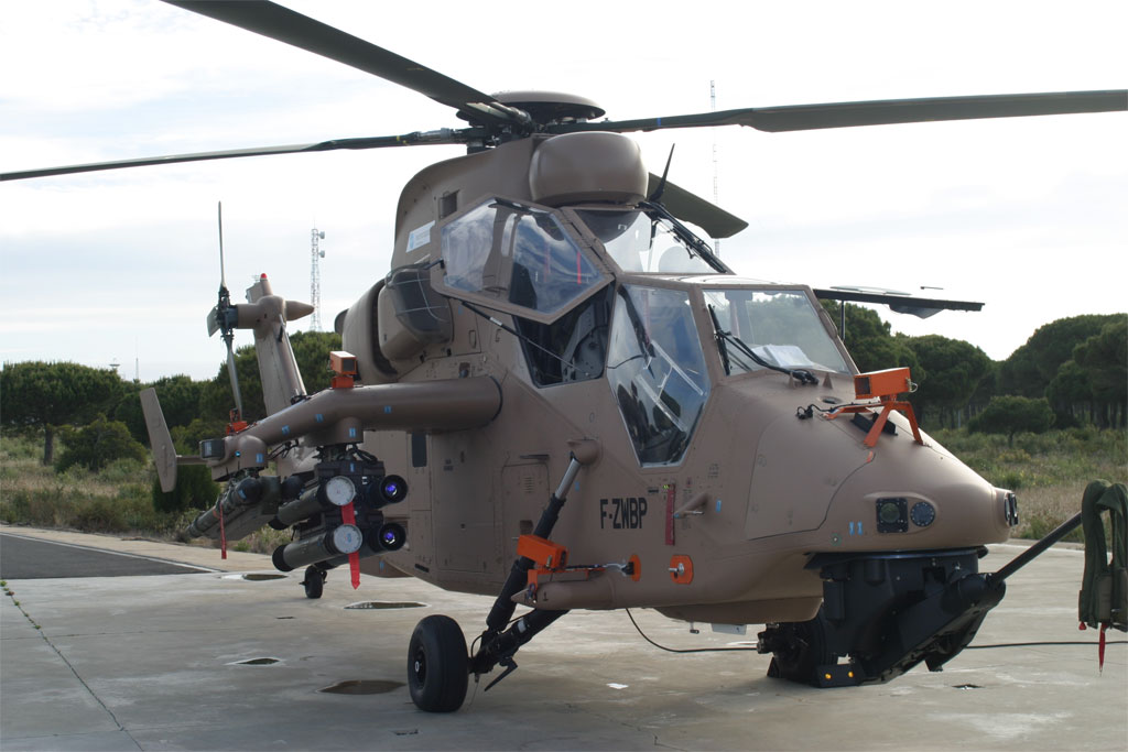 First Spanish Assembled Eurocopter Tiger (EC665) Attack ...