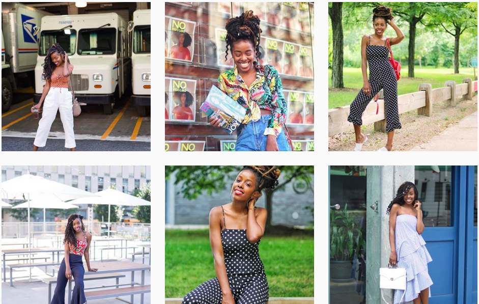 how to become a micro influencer like sade solomon
