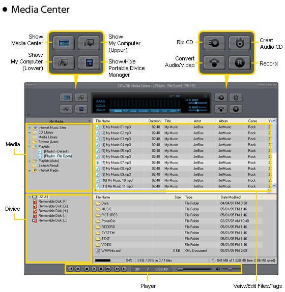 jetAudio 8.1.5 Basic - Δωρεάν Media Player και όχι μόνο