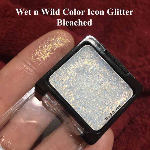 wet n wild color icon glitter bleached