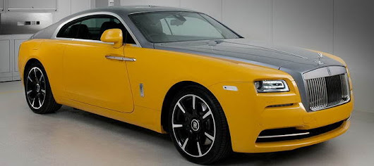 Rolls-Royce Wraith reborn in yellow new improved version - CARBYCARS